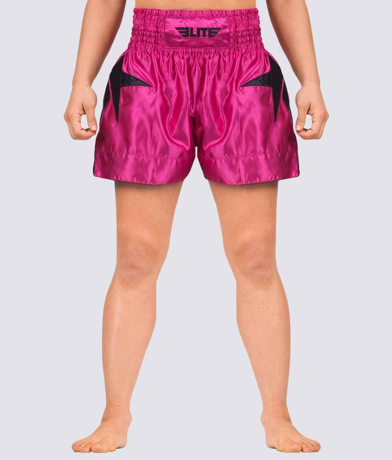 Elite Sports Star Series Sublimation Pink Muay Thai Shorts