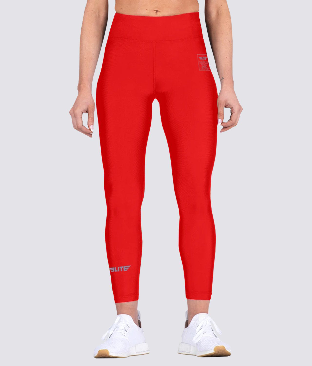 Elite Sports Red Women Compression Judo Spat Pants