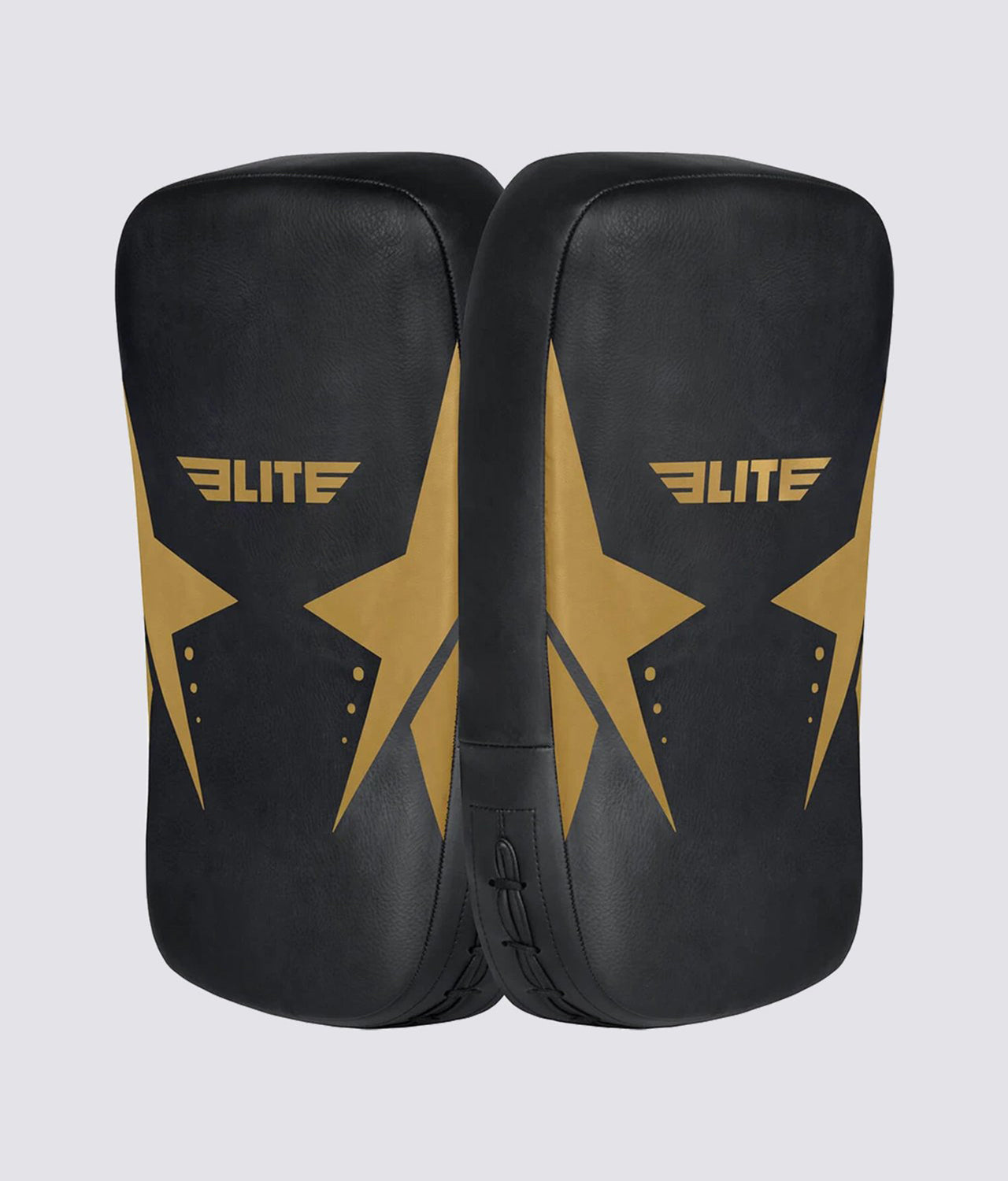 Elite Sports Black/Gold Muay Thai Kick Pad