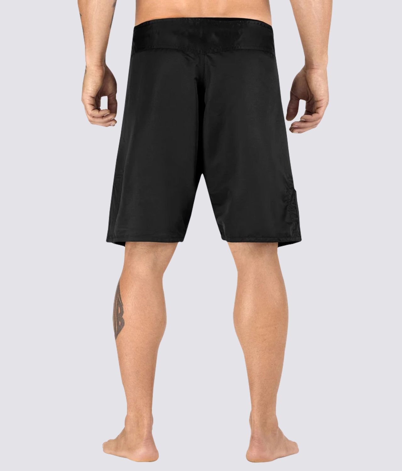 Elite Sports Black Jack Series Black/Black MMA Shorts