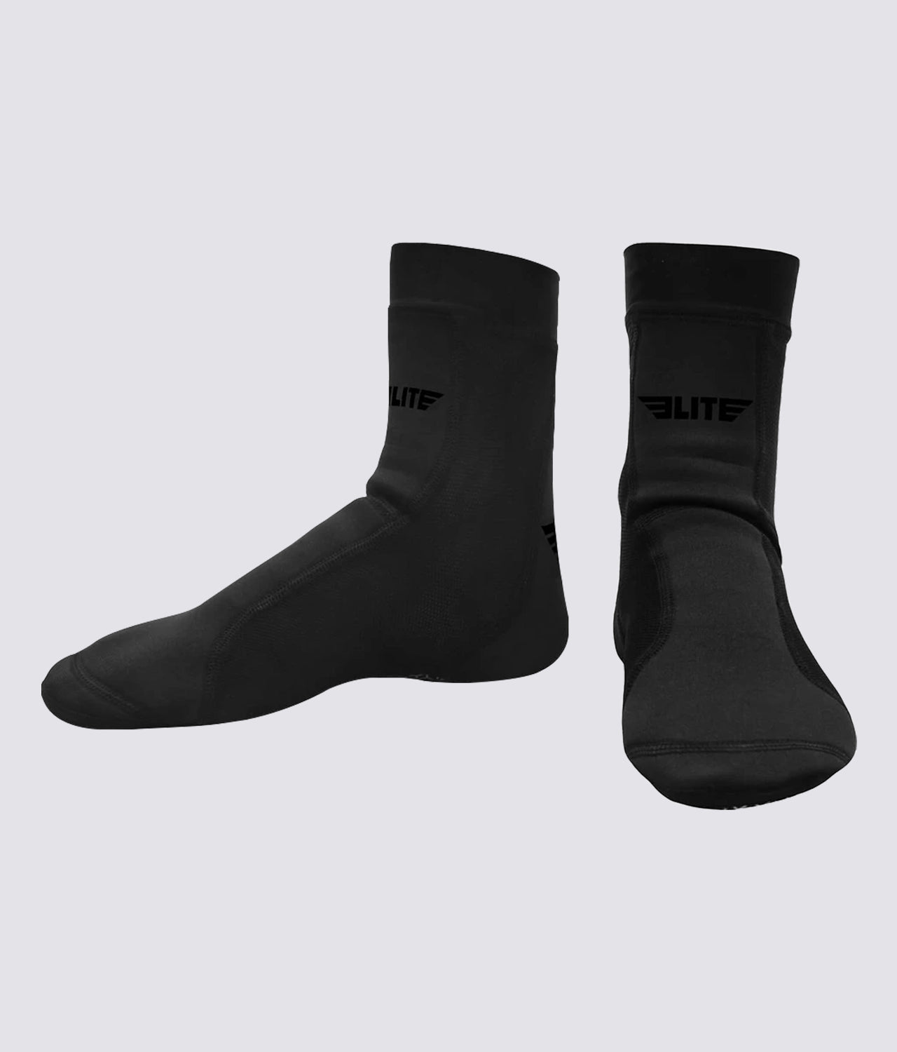 Elite Sports Superior Comfort Black Training Foot Grips
