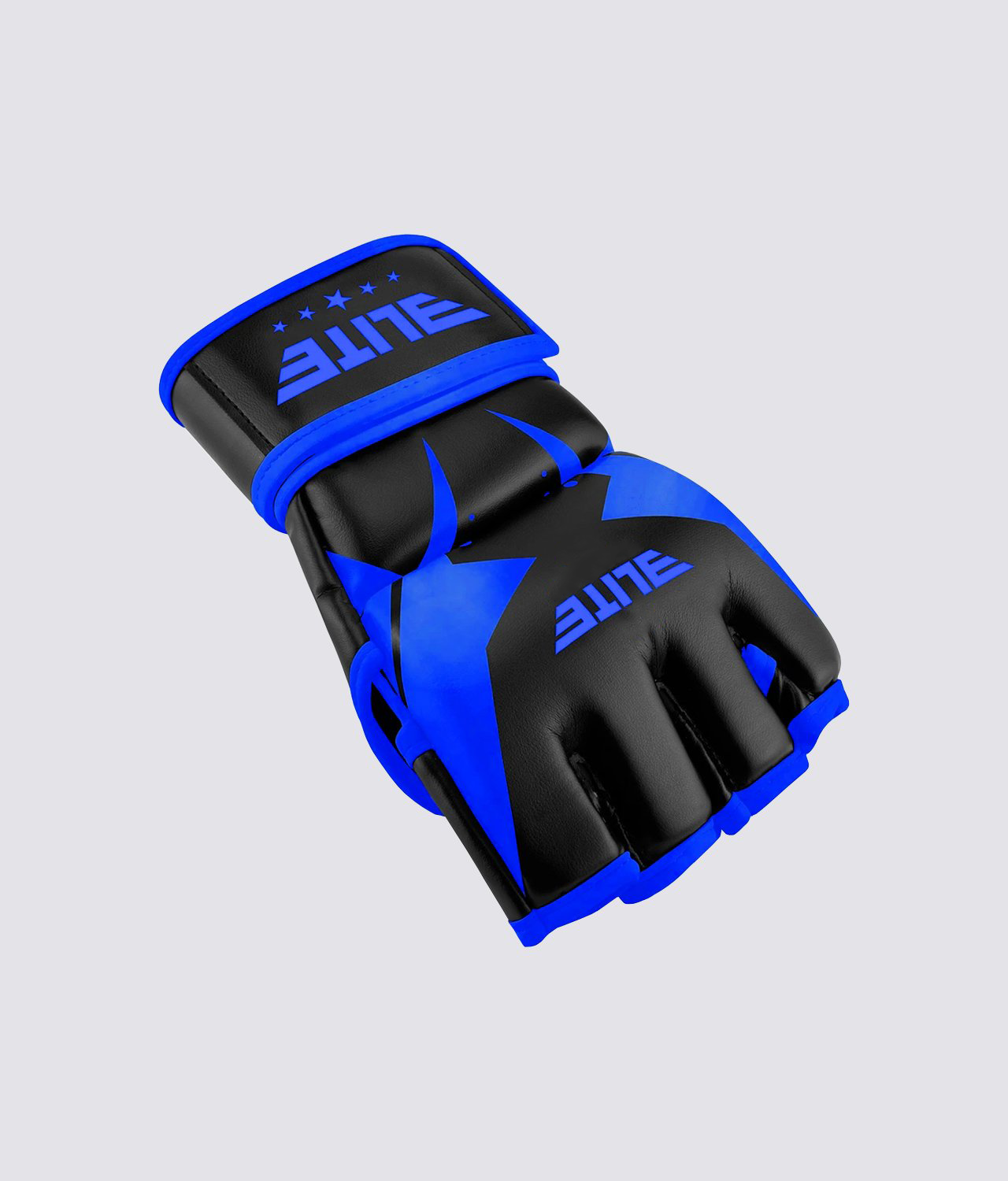 New Blue Shield MMA Syle Gloves Blue /& Black in Color with Sizes L /& XL