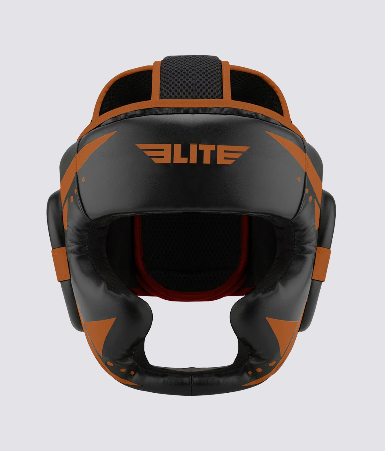 Elite Sports Star Series Sparring Black/Cooper Muay Thai Headgear