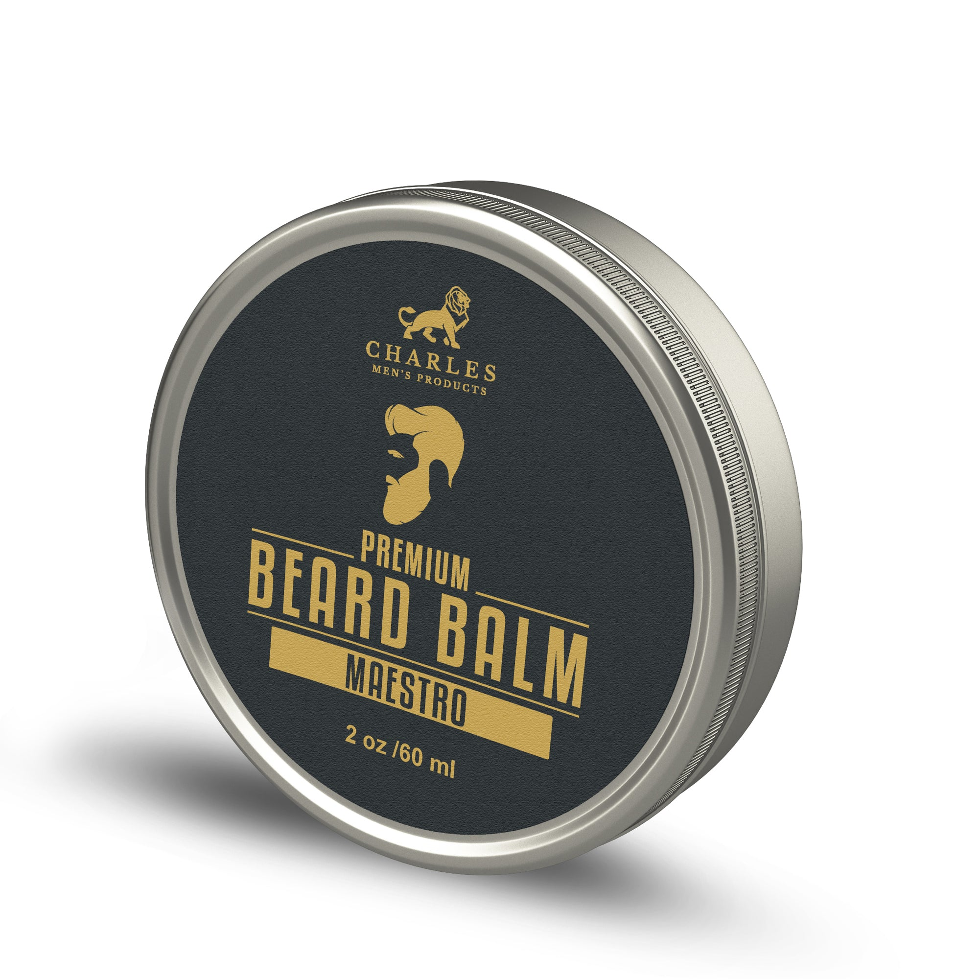 Charles Men's Product Beard Balm 2oz. Charles Premium Beard Balm helps improve your beard and skin health. Our Vitamin E Oil conditions the skin underneath your beard, eliminating flaking,while our other essential oils combine to help reduce beard itch and dandruff.