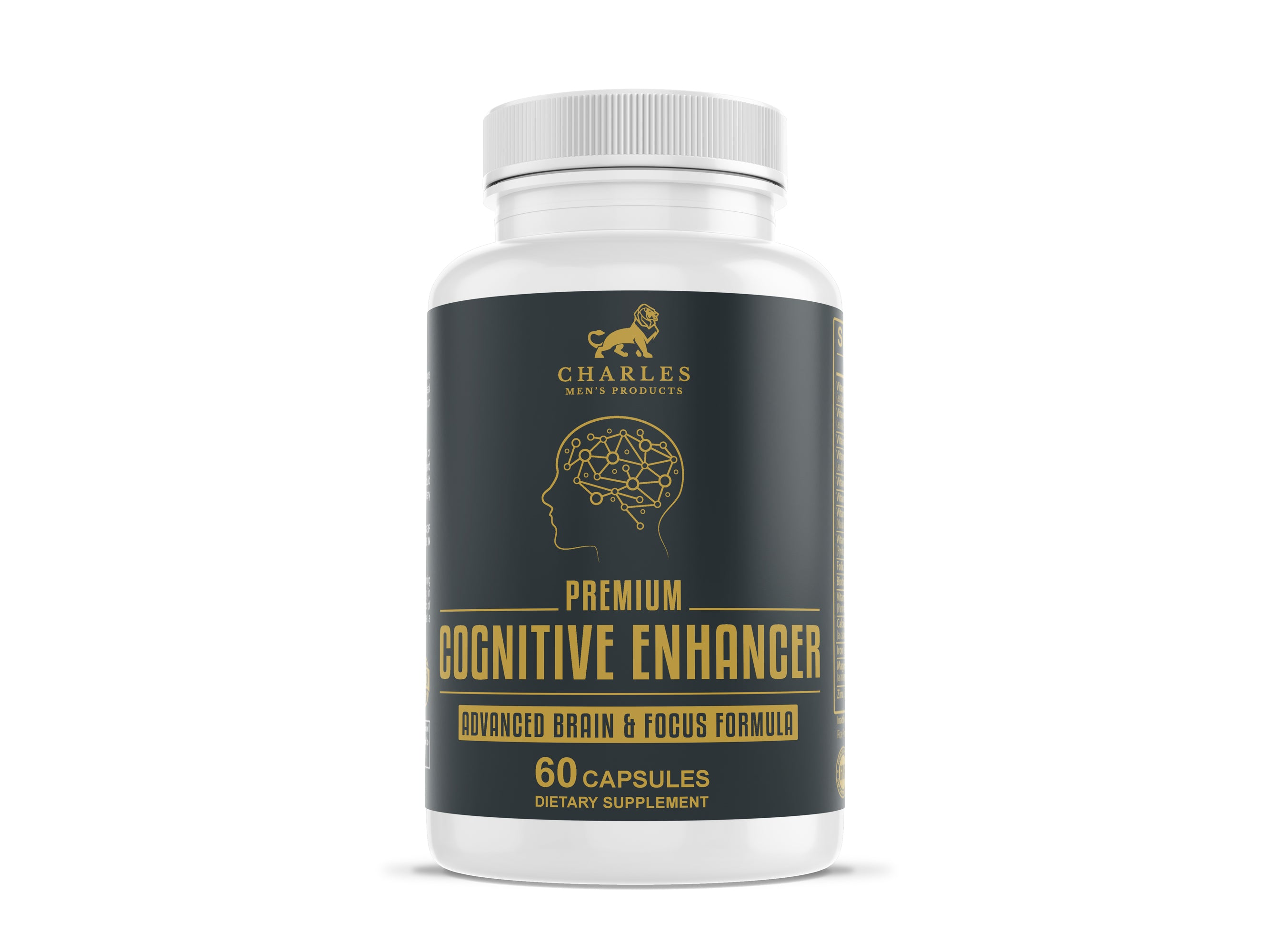 60 capsules, one month supply of Cognitive Enhancer. The intended benefits of this supplement include The intended benefits of this supplement include to improve mood, boost memory function, increase physical energy, improve mental clarity, promote concentration, boost level of alertness, and increase physical energy.