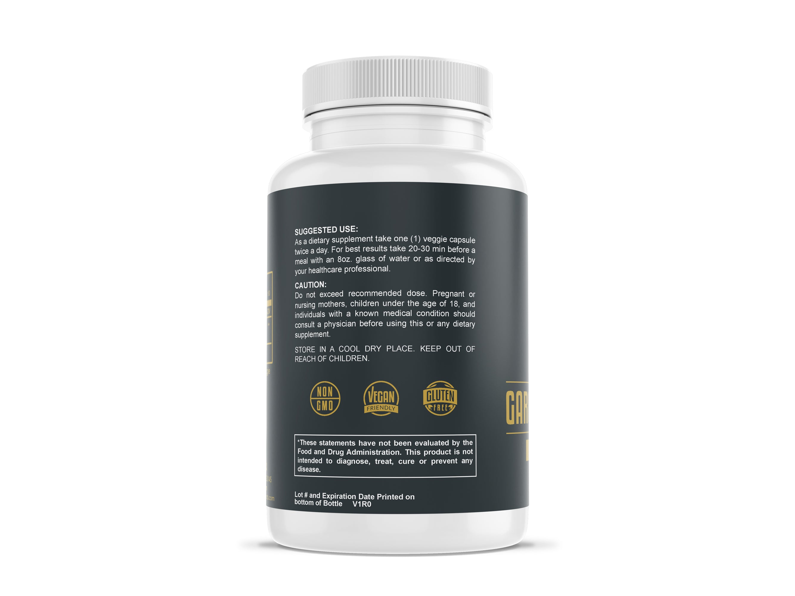 Charles Men's Products Garcinia Cambogia, 95% HCA Complex. The intended benefits of this supplement include helping to prevent fat storage, suppress appetite, act as a general sleep aid, and to help boost mood