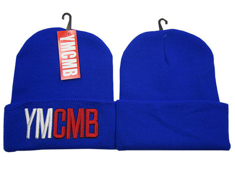 YMCMB Beanie Hat cotton knitted skull cap