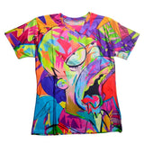 The Simpsons Homer Simpson Colorful Allover Print Tshirt - TshirtNow.net - 1