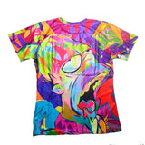 The Simpsons Homer Simpson Colorful Allover Print Tshirt - TshirtNow.net - 2