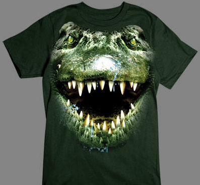 Alligator Face tshirt