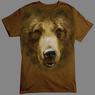 Bear Face tshirt