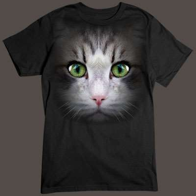 Cat Face tshirt
