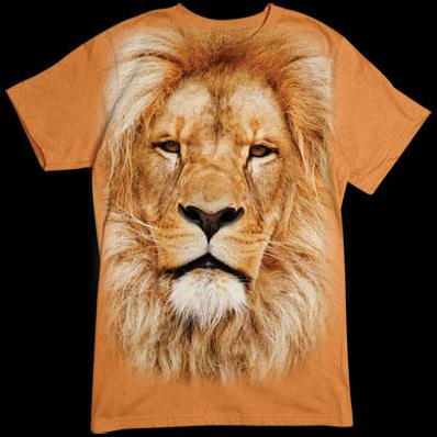 Lion Face tshirt