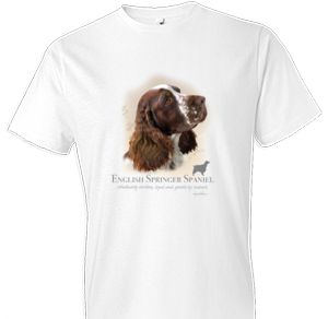 English Springer Spaniel Tshirt - TshirtNow.net - 1