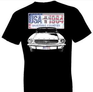 Ford Mustang Country w/ Crest Tshirt