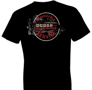 Vintage Dodge Sign Tshirt - TshirtNow.net - 1