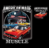 Chrysler American Made Muscle Tshirt - TshirtNow.net - 2
