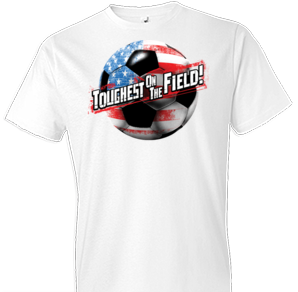 Toughest On The Field Soccer Tshirt - TshirtNow.net - 1