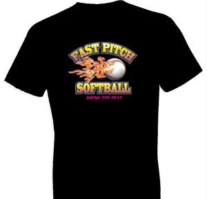 Bring The Heat Softball Tshirt - TshirtNow.net - 1