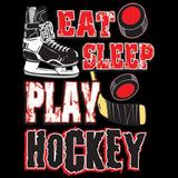 Eat Sleep Play Hockey Tshirt - TshirtNow.net - 2