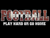 Football Play Hard Tshirt - TshirtNow.net - 2