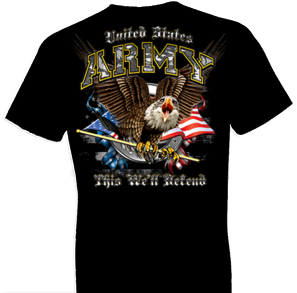 U.S. Army This We'll Defend Tshirt