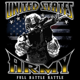 U.S. Army Full Battle Rattle Tshirt - TshirtNow.net - 2