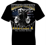 U.S. Army Full Battle Rattle Tshirt - TshirtNow.net - 1