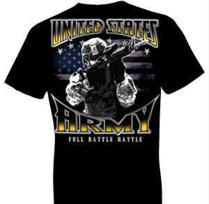 U.S. Army Full Battle Rattle Tshirt