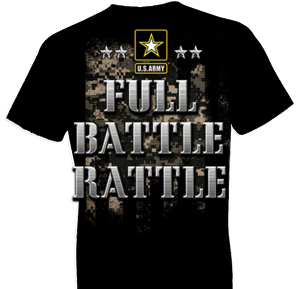 U.S. Army Full Battle Rattle 2 Tshirt
