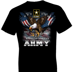 U.S. Army Eagle and Flag Tshirt