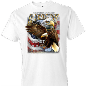 U.S. Army Support Our Troops Tshirt