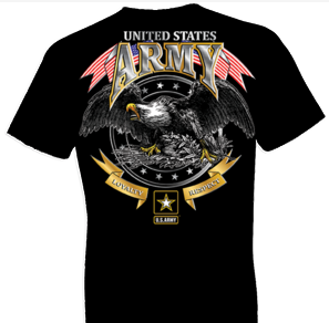U.S. Army Loyalty Respect Eagle Tshirt
