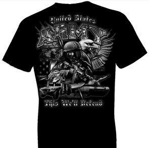 Army This We'll Defend w/ Crest Tshirt