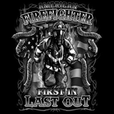 Firefighters First In Last Out Tshirt - TshirtNow.net - 2