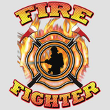 Firefighters Emblem Tshirt - TshirtNow.net - 2