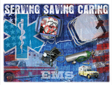 EMS Serving and Saving Tshirt - TshirtNow.net - 2