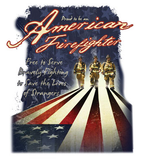American Firefighters Tshirt - TshirtNow.net - 2