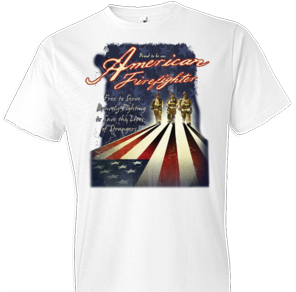 American Firefighters Tshirt