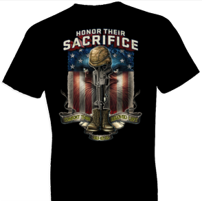 Honor Their Sacrifice Tshirt