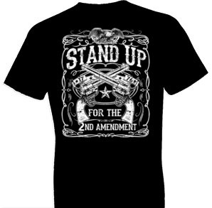 2nd Amendment Stand Up Tshirt - TshirtNow.net - 1