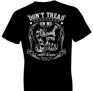 2nd Amendment Liberty or Death Tshirt