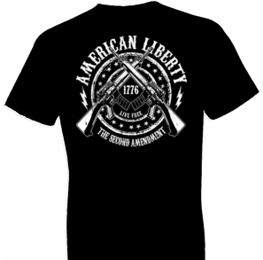 2nd Amendment American Liberty Tshirt