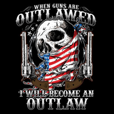 2nd Amendment Become An Outlaw Tshirt - TshirtNow.net - 2