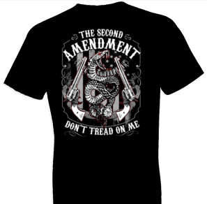 The 2nd Amendment w/ Crest Tshirt - TshirtNow.net - 1
