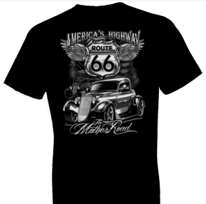 The Mother Road Biker Tshirt - TshirtNow.net - 1