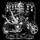 Ride It Hard Biker Tshirt - TshirtNow.net - 2