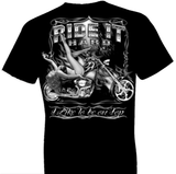 Ride It Hard Biker Tshirt - TshirtNow.net - 1