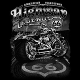 Highway Legend Biker Tshirt - TshirtNow.net - 2