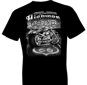 Highway Legend Biker Tshirt